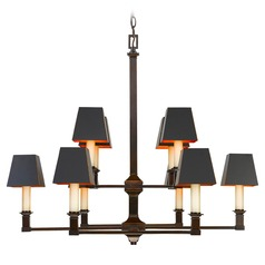 Golden Lighting Bradley Cordoban Bronze Chandelier