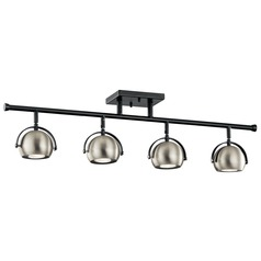 Mid-Century Modern Directional Spot Light Black Solstice by Kichler Lighting