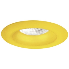 Minka Lighting 4-Inch Sunshine Yellow Recessed Light Trim