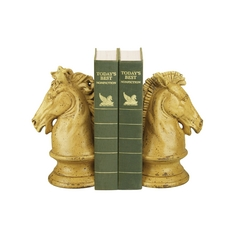Decorative Knights Bookend Set