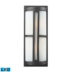 Elk Lighting Trevot Graphite LED Outdoor Wall Light