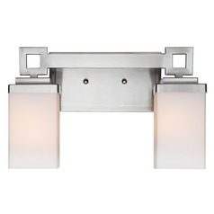Golden Lighting Nelio Pewter Bathroom Light