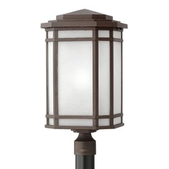 Oil Rubbed Bronze Post Light by Hinkley Lighting