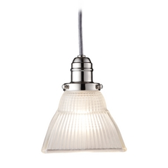 Hudson Valley Lighting Mini-Pendant Light with White Glass 3101-PN-45F