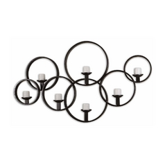 Uttermost Lighting Wall Art in Rustic Black Finish 07617