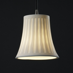 Justice Design Group Limoges Collection Mini-Pendant Light