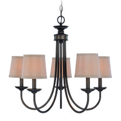 Jeremiah Spencer Bronze Chandelier