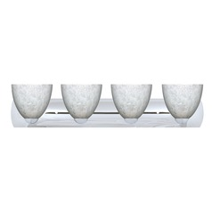 Besa Lighting Sasha Chrome Bathroom Light