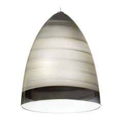 Nebbia Satin Nickel Mini-Pendant Light by Tech Lighting
