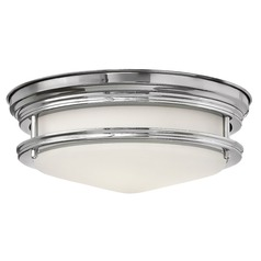 Hinkley Lighting Hadley Chrome Flushmount Light