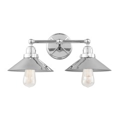 Feiss Lighting Hooper Chrome Bathroom Light