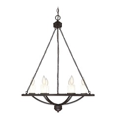 Bronze Chandelier Hampshire Collection by Savoy House
