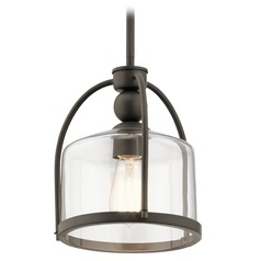 Modern Pendant Light Olde Bronze by Kichler Lighting