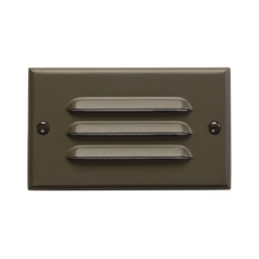 Kichler LED Recessed Step Light in Architectural Bronze Finish