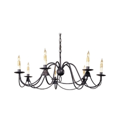 Chandelier in Antique Bronze Finish