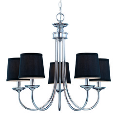 Jeremiah Spencer Chrome Chandelier