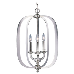 Maxim Lighting Fairmont Polished Nickel Pendant Light