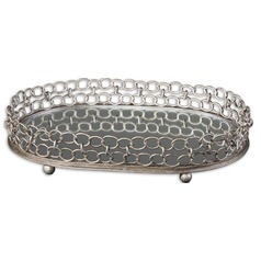 Uttermost Lieven Mirrored Decorative Tray