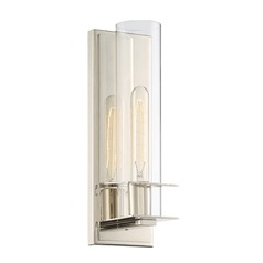 Savoy House Lighting Hartford Polished Nickel Sconce