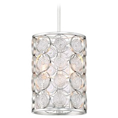 Minka Lavery Culture Chic Catalina Silver Pendant Light