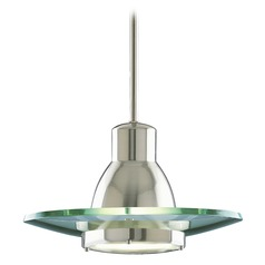 Progress Modern Pendant Light with Clear Glass
