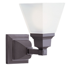 Livex Lighting Mission Bronze Sconce
