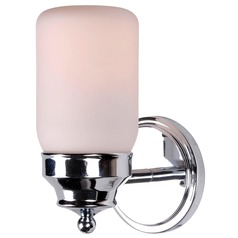 Kenroy Home Lighting Midtown Chrome Sconce