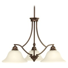 Progress Lighting Spirit Antique Bronze Chandelier
