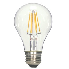 LED A19 Bulb Medium Base 360 Degree Beam Spread 2700K 120V - 60-Watt Equivalent Dimmable