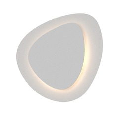 Sonneman a Way Of Light Abstract Panels Textured White LED Sconce