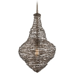 Troy Lighting Shelter Revolution Bronze Pendant Light