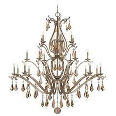 Savoy House Oxidized Silver Crystal Chandelier