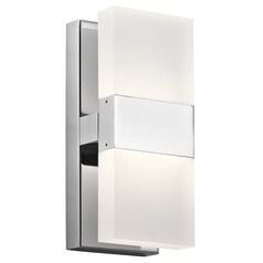 Elan Lighting Haiden Chrome LED Sconce