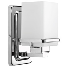 Modern Sconce Chrome Metric by Progress Lighting