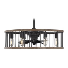 LED Ceiling Fan with Light Kona Collection by Savoy House
