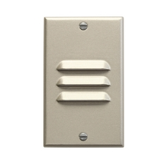 Kichler Dimmable LED Recessed Step Light in Brushed Nickel Finish