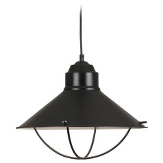 Nautical Pendant Light in Oil Rubbed Bronze Finish