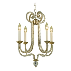 AF Lighting Camerson 4-Light Chandelier in Gold
