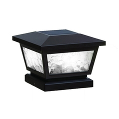 Classy Caps Lighting Fairmont LED Solar Post Light Cap FS100B