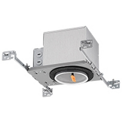 Adjustable 4-Inch New Construction LED Recessed Housing