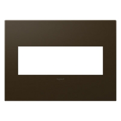 Legrand Adorne Bronze 3-Gang Switch Plate