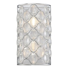 Savoy House Lighting Opus Polished Chrome Sconce