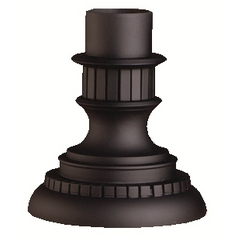 Kichler Pier Mount in Black Finish