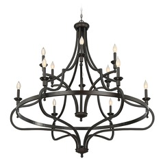 Savoy House Lighting Shields English Bronze Chandelier