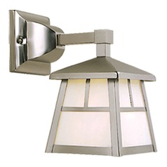 Mission Stainless Steel Outdoor Wall Light by Vaxcel Lighting