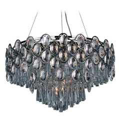 Maxim Lighting Jewel Polished Chrome Pendant Light