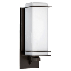 Quorum Lighting Balboa Oiled Bronze Outdoor Wall Light