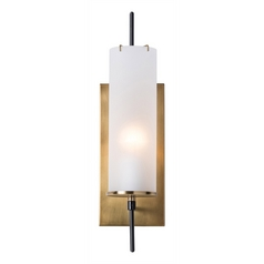 Arteriors Home Lighting Stefan Vintage Brass Sconce