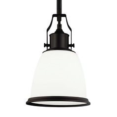 Feiss Hobson Oil Rubbed Bronze Mini-Pendant Light