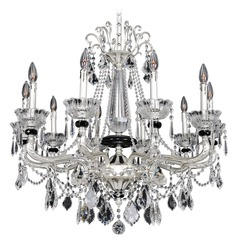 Campra 10 Light Crystal Chandelier